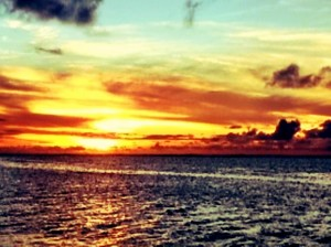 Sunset Anini Beach