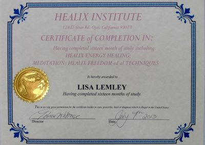 Healix Earth Studies & Energy Healing School