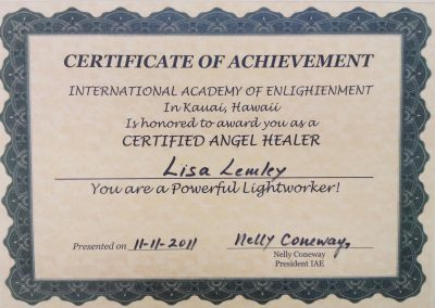 Certified Angel Healer